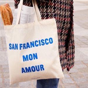 NEW Sezane San Francisco Tote